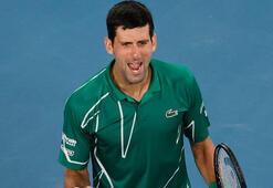 Avustralya Açıkta ilk finalist Djokovic