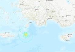 Son dakika Marmaris açıklarında büyük deprem Peş peşe artçı sarsıntılar yaşanıyor