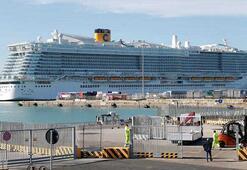 İtalyadaki 6 bin kişilik cruise gemisine coronavirüs karantinası