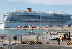 Costa Smeralda gemisine koronavirüs karantinası