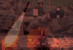 İsrail ordusundan Gazzeye uçak ve tanklarla saldırdı