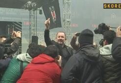 Beşiktaşta Sergen Yalçının imza töreni
