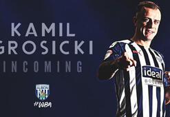 Eski Sivassporlu Kamil Grosicki, West Bromwich Albionda