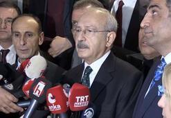 CHP Genel Başkanı Kılıçdaroğlu açıklama yaparken artçı sarsıntı meydana geldi