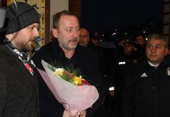 Beşiktaş kafilesi Rizede