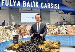 Canlı kara midye CarrefourSA'da