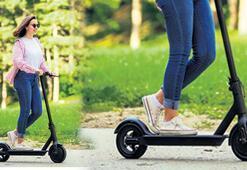 'Kurtarıcı' scooterlar sokaklarda