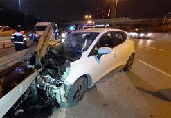 İstanbulda gece yarısı korkunç kaza Ölü ve yaralılar var