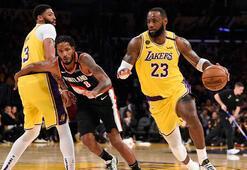 NBAde Lakers, Kobe Bryantın ölümü sonrası ilk maçına çıktı