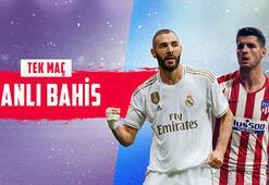 Real Madrid – Atletico Madrid canlı bahis heyecanı Misli.comda