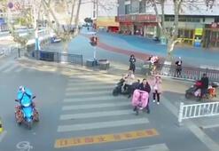 Son dakika... Çinde dronelar uçurup uyarılarda bulunuluyor Coronavirüs tehdidi sürüyor
