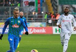 Çaykur Rizespor - Beşiktaş: 1-2