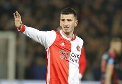 Oğuzhan Özyakup ilk maçında siftah yaptı Feyenoord kazandı...