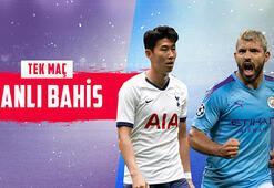 Tottenham – Manchester City maçı canlı bahisle Misli.comda