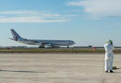 Çinden kalkan ikinci uçak Fransaya ulaştı