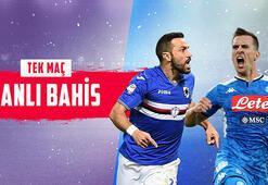 Sampdoria – Napoli maçı canlı bahisle Misli.comda