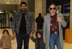 Ebru Yaşar ve ailesinin keyfili günü