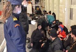 116 göçmen yakalandı