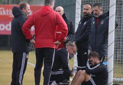 Beşiktaş, Gaziantep FK maçına hazırlanıyor Adem Ljajic tempoya dayanamadı...