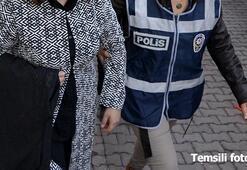 FETÖnün mütevelli heyeti üyesi kadın, kuaföre girerken yakalandı