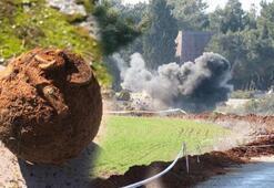Çanakkale Savaşlarından kalma 'Tüfekçiyef' el bombası imha edildi