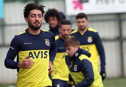 Geri dönen Allahyar da Fenerbahçe idmanında...