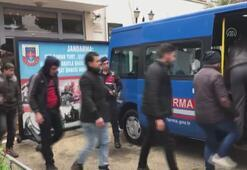 Mersinde 17 düzensiz göçmen yakalandı