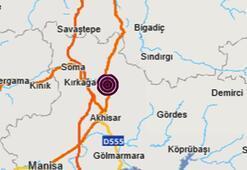 Son dakika | Manisada peş peşe şiddetli depremler İstanbul, İzmir ve Bursada da hissedildi