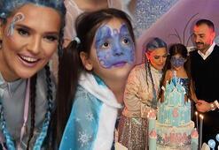 Demet Akalından kızına doğum günü partisi Hira 6 yaşında