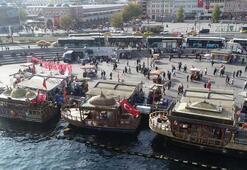 Eminönü'ndeki balıkçı teknesi davasında yeni karar