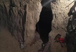 Evinin bodrumunda kazı yaparken yakalandı