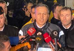 İstanbul Valisi Ali Yerlikaya: Uçak 30-40 metrelik yükseklikten buraya düşüyor