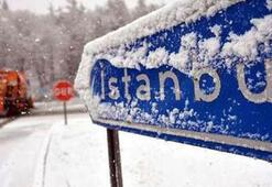 İstanbul hava durumu için peş peşe uyarı İstanbulda beklenen kar başladı