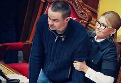 Ukrayna Parlamentosunda arbede