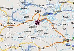 Son dakika   Elazığda bir deprem daha