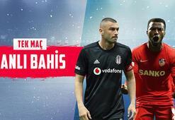Beşiktaş – Gaziantep FK maçı canlı bahisle Misli.comda