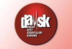 Türkiyede 9,6 milyon konut DASK güvencesi altında