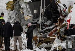 ABDden gelen heyet kaza yapan uçağın enkazında incelemede bulundu
