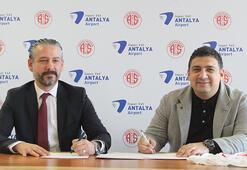 Antalyasporda isim sponsorluğu anlaşması