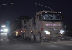 Suriyeye obüs ve tank sevkiyatı