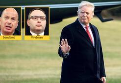 Trump 'temizliğe' başladı