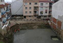 Kazı sırasında 2 binanın temeli kaydı Büyük panik
