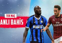 Inter-Milan derbisi canlı bahisle Misli.comda...