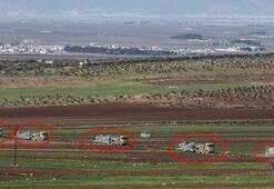 İdlibdeki gözlem noktalarına komando ve zırhlı araç sevkiyatı