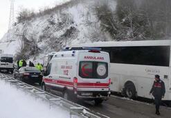 Orduda zincirleme kaza 6 yaralı