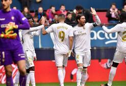 Real Madrid, Osasunayı ezdi geçti Ramosa tepki...