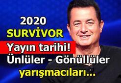 Survivor ne zaman başlayacak Survivorın yeni sezon yarışmacıları kimler