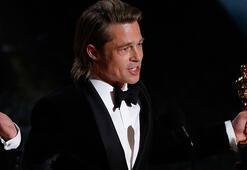 Oscar alan Brad Pittten 45 saniye göndermesi