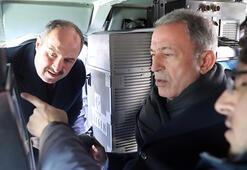 Bakanlar Akar ve Varank ile MİT Başkanı Fidan TÜBİTAKı ziyaret etti