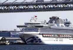 Karantina altındaki gemide 60 kişide daha koronavirüs tespit edildi